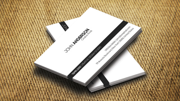 Personal Business Card CM189