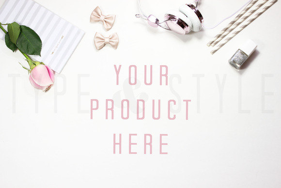 Styled Stock Photo Desktop