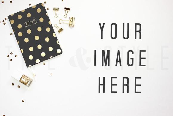 Styled Stock Photo Desktop Planner
