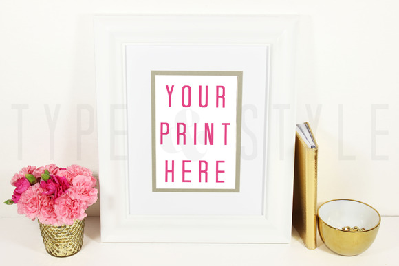 Styled Stock Photo Frame