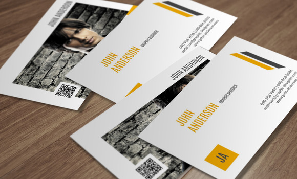 Personal Business Card CM196