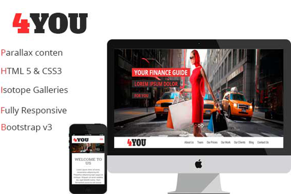 4YOU One Page Event Product Boot