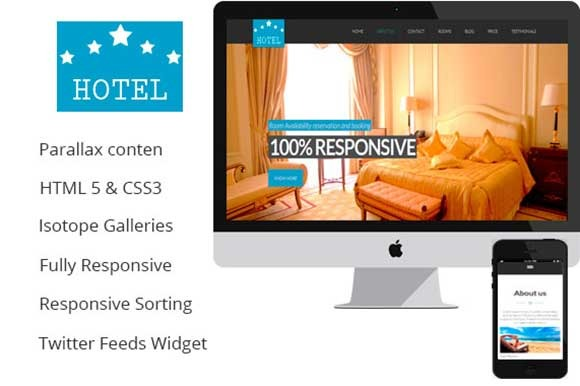 Comfort A One Page Hotel House R