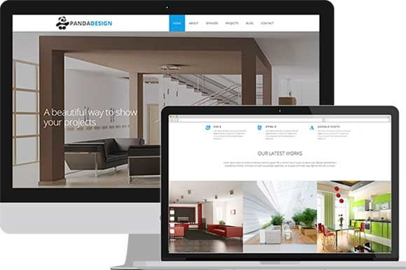 Panda Design Interior Template