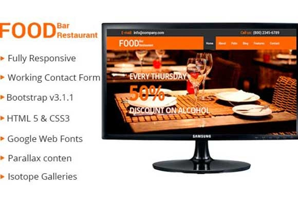 Restaurant Professional Theme