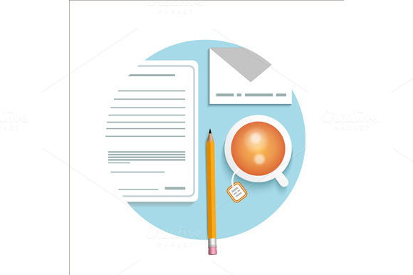Business Documents Concept