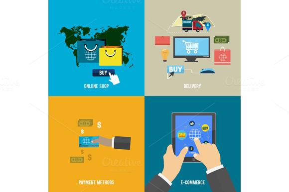 Online Shop E-commerce Payment