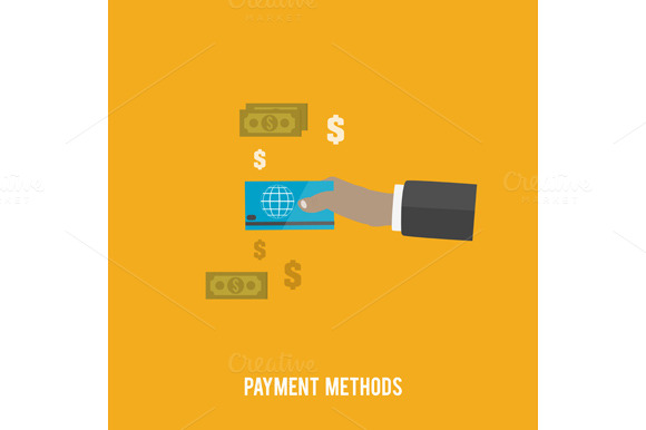 Business Concept Payment Methods