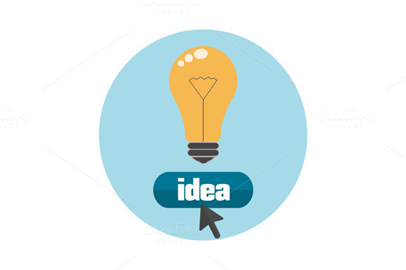 Lightbulb Idea Concept