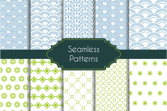 10 Seamless Pattern