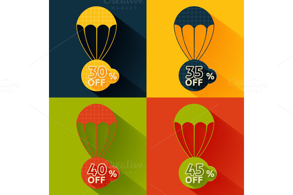 Set Discount Parachute Set