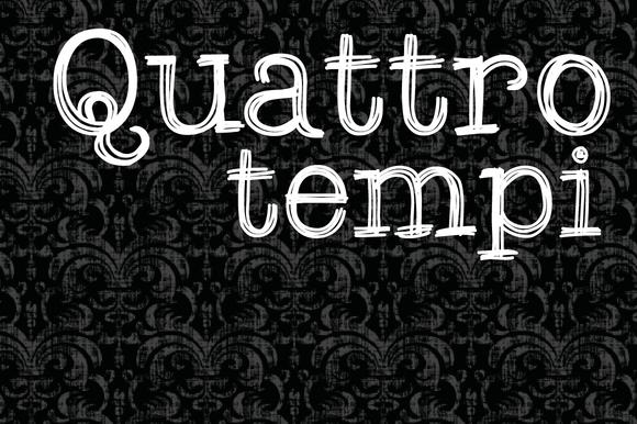 Quattro Tempi Family 2 Fonts