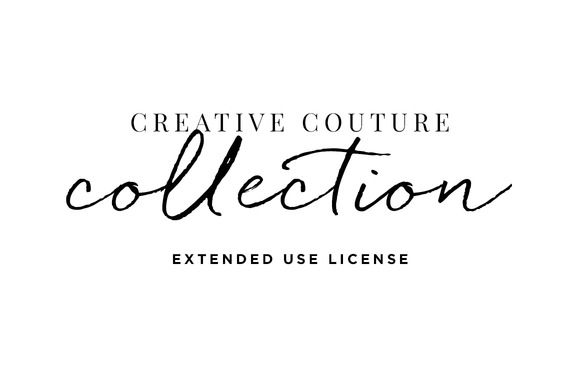 Extended License Creative Couture