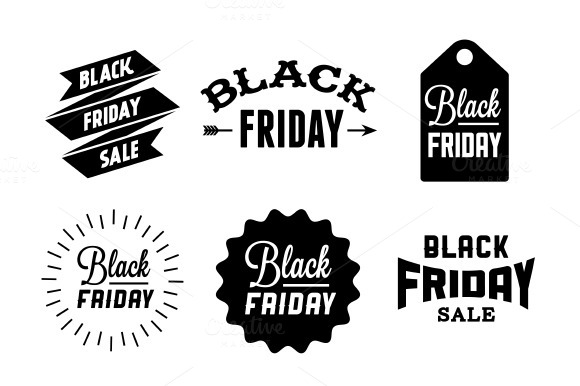 9 Black Friday Labels