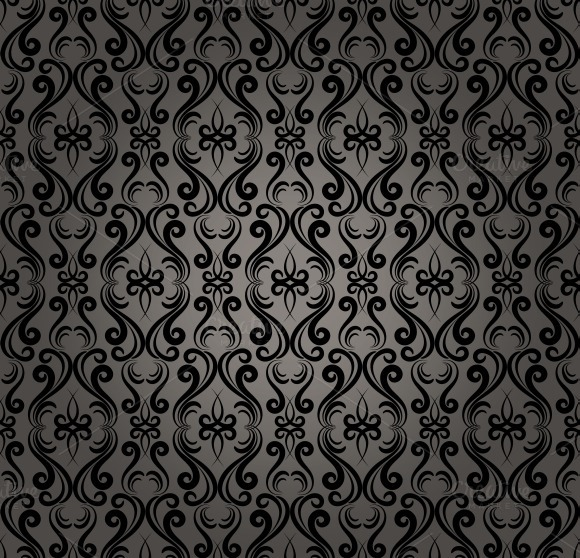 Damask Baroque Seamless Pattern