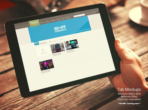 Tablet Mockup 1