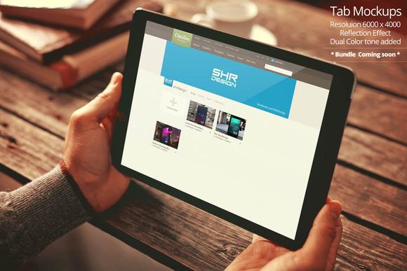 Tablet Mockup 4