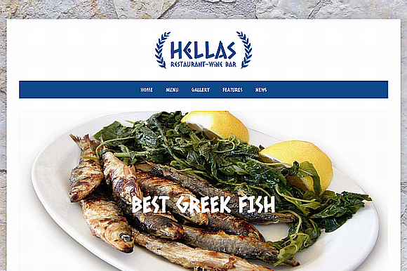 Hellas Responsive Restaurant Theme