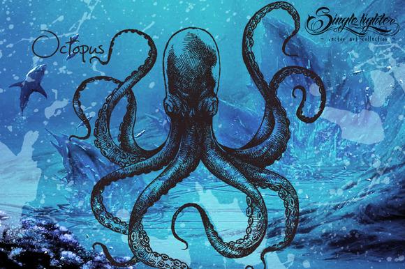 Octopus Monster