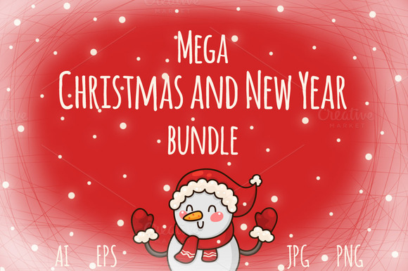 Mega Christmas And New Year Bundle