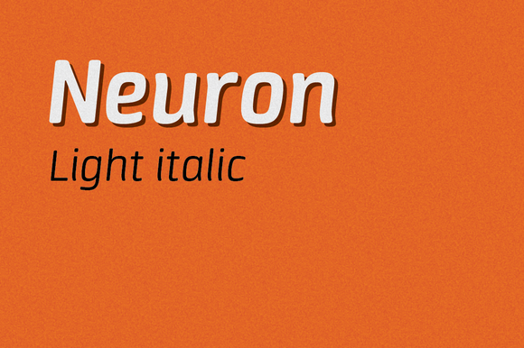 Neuron Light Italic