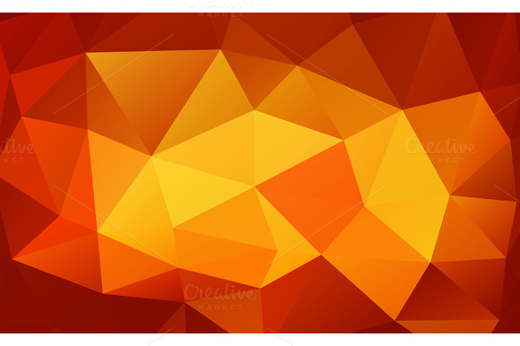 Triangle Background Polygons