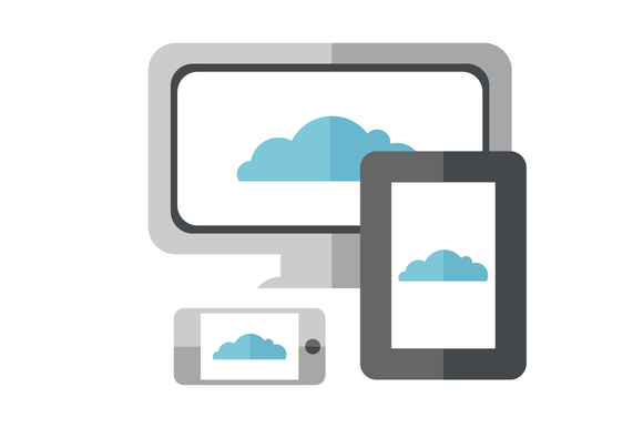 Cloud On Mobile Tablet And Web