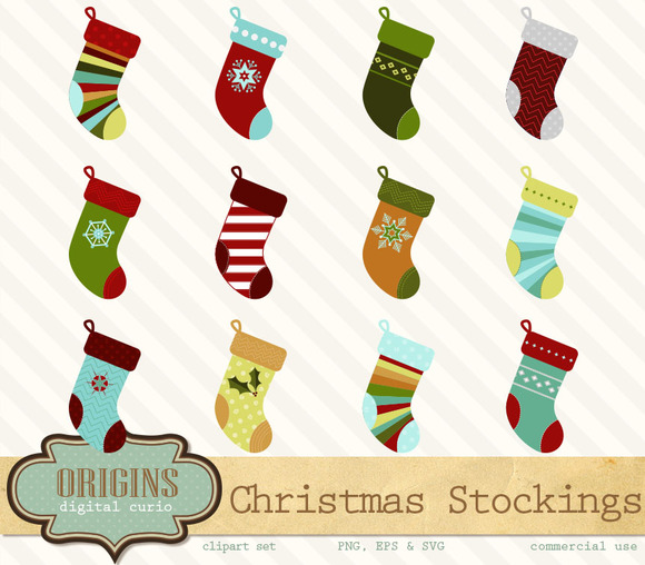 Christmas Stocking PNGs And Vectors