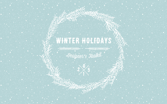 Winter Holidays Designer S Toolkit