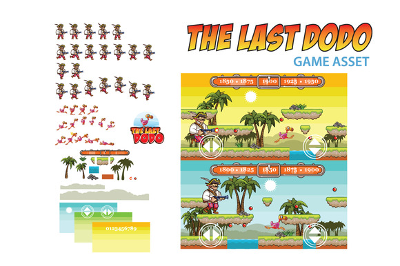 The Last Dodo Game Asset