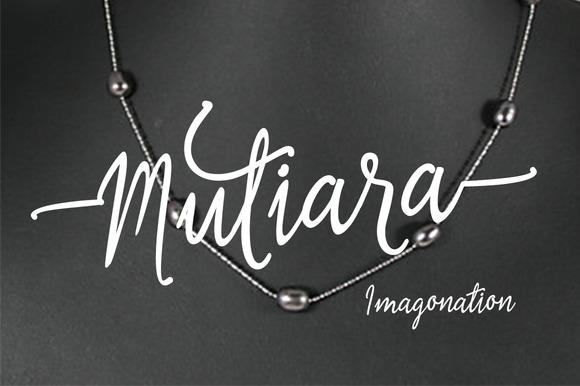 Mutiara Script
