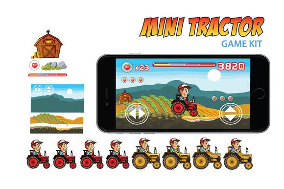 Mini Tractor Game Kit