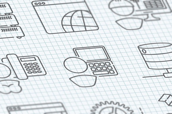 16 Communication Technology Icons