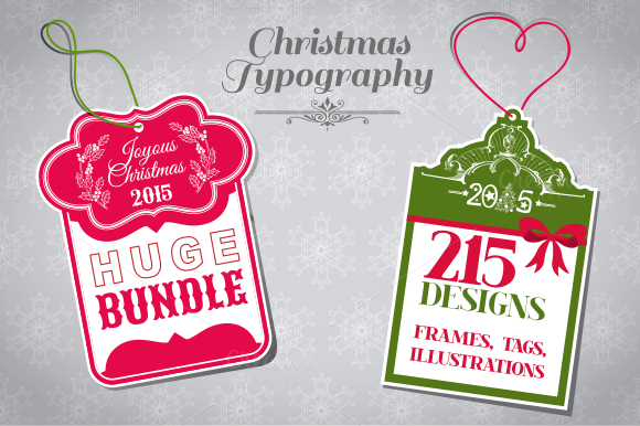 Christmas Typography Bundle