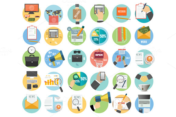 Business Office And Marketing Items