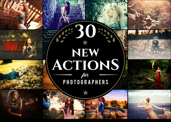 30 Photoshop Actions