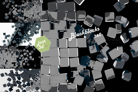 Glossy Blocks
