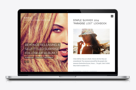 Racks Magazine Wordpress Theme