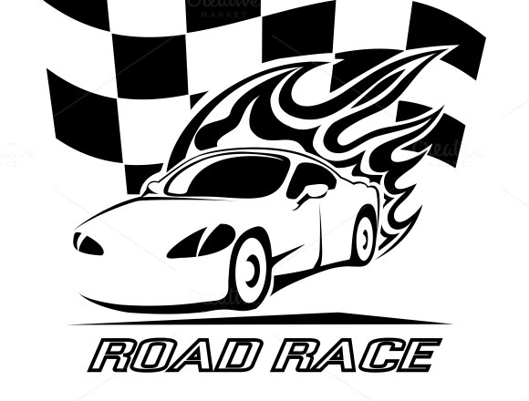 Road Race Poster Design