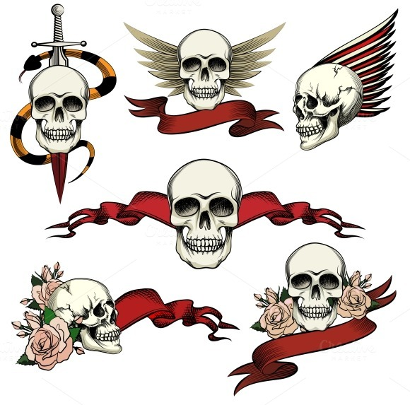 Tattoo Skull Icons
