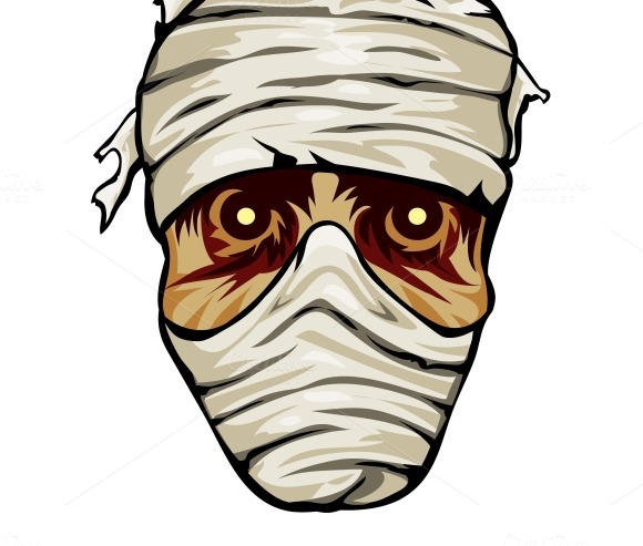 Face Of A Mummy