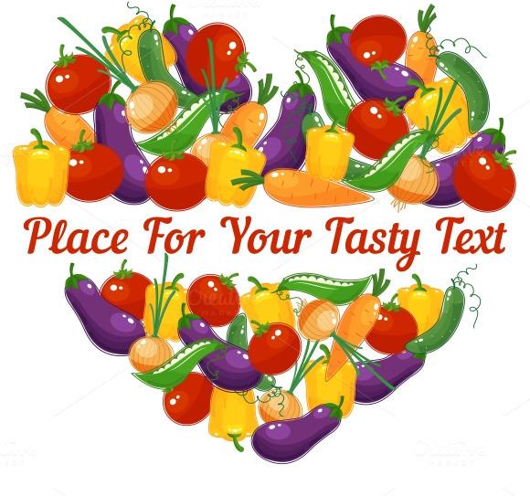 Vegetable Heart 4 Healthy Lifestyle