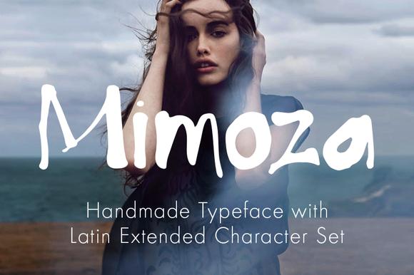 Mimoza Typeface