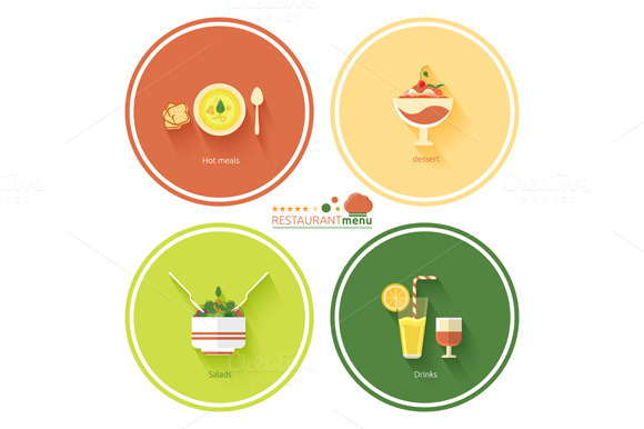 Set Restaurant Menu Designs