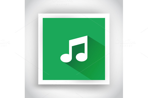 Icon Of Music For Web And Mobile