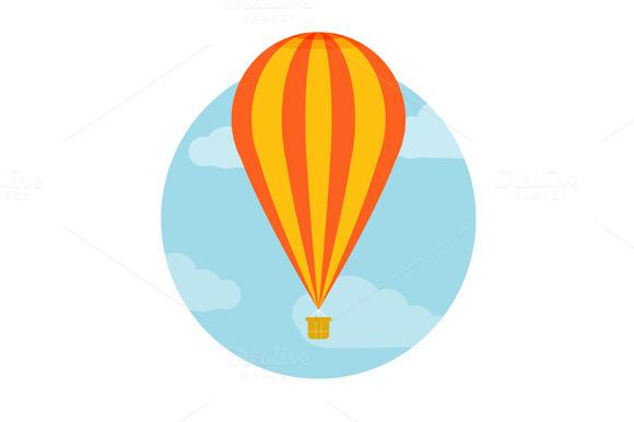 Set Hot Air Balloon Flying