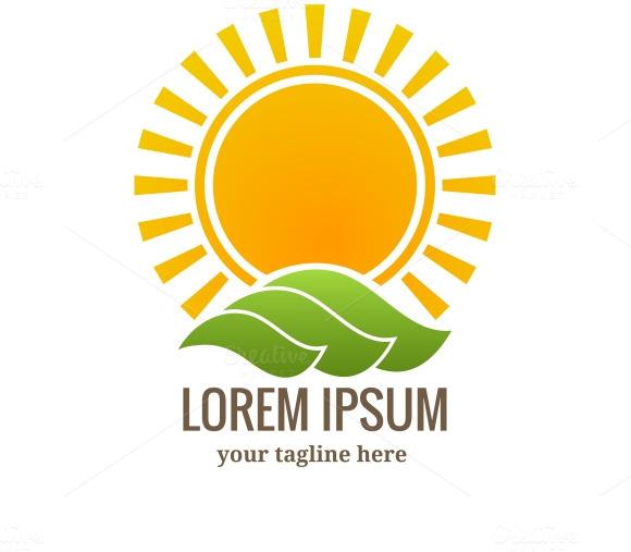 Sunset Logo Or Emblem