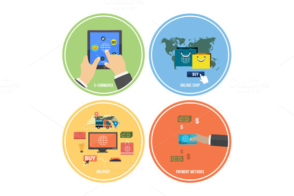 Icons For E-commerce Delivery