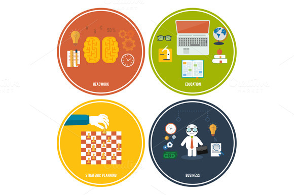 Icons For Education Headwork