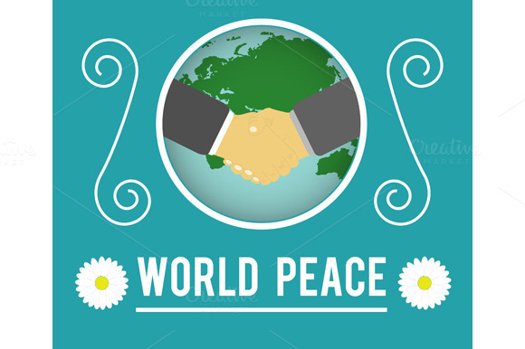Set World Peace Concept